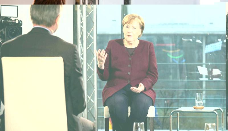 Merkel, Almanya'nın ikinci dalgayı atlattığını söyledi