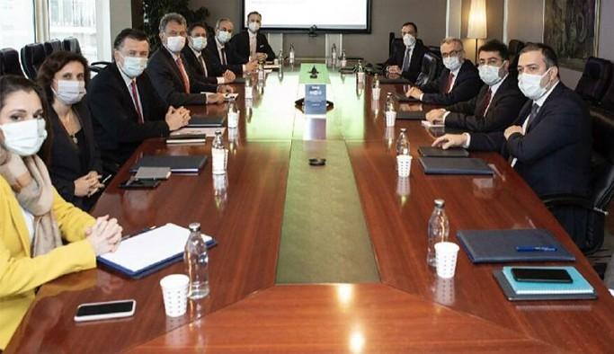 Merkez Bankası Başkanı Ağbal'dan TÜSİAD'a ziyaret