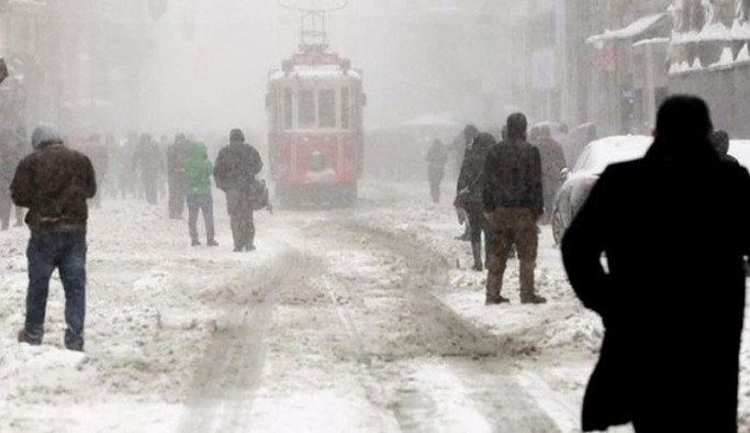 Meteoroloji'den İstanbul için kar uyarısı: Günlerce sürecek