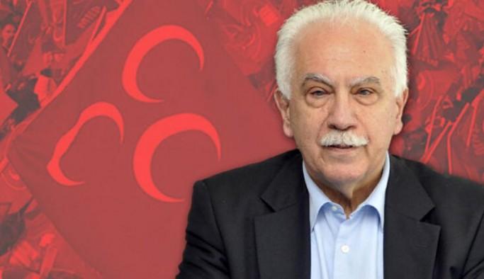 'MHP'nin başına geçmekten şeref duyarım' diyen Perinçek'e partiden yanıt: 'Çay bile içmeyiz'