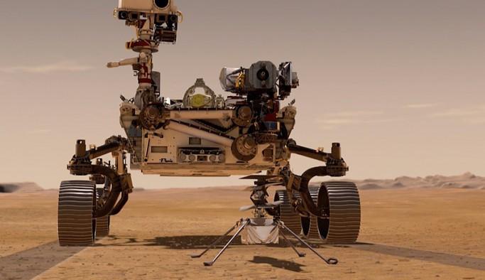 NASA'nın uzay robotu 'Azim' Mars'a iniyor