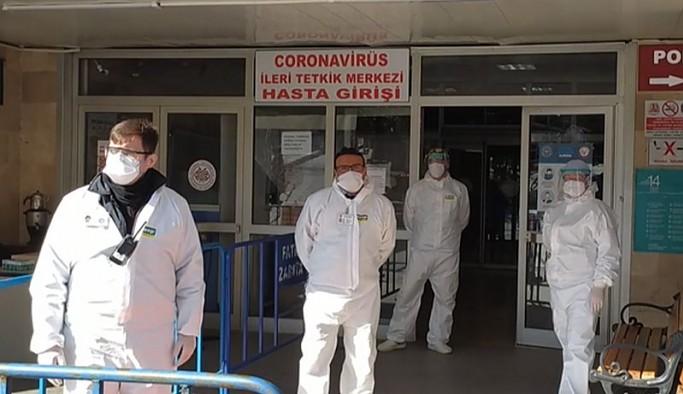 Özlük haklarıyla ilgili açıklama yapan sağlıkçılara ceza