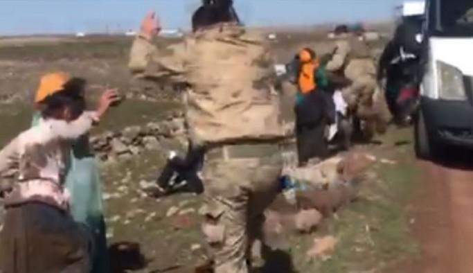 Siverek'te askerler köylülere müdahale etti: Bir kadın darp edildi