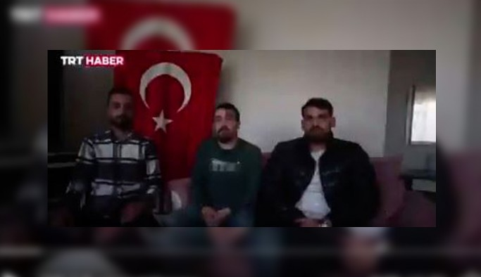 TRT'nin videosu olay anında orada olanların videolarıyla boşa çıktı