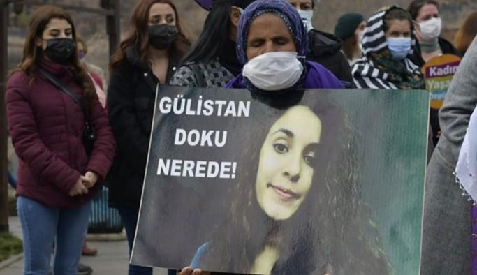 Dersim'de Gülistan Doku'nun annesi ve ablası 8 Mart dolayısıyla Valiliğe yürüdü: Gülistan nerede?
