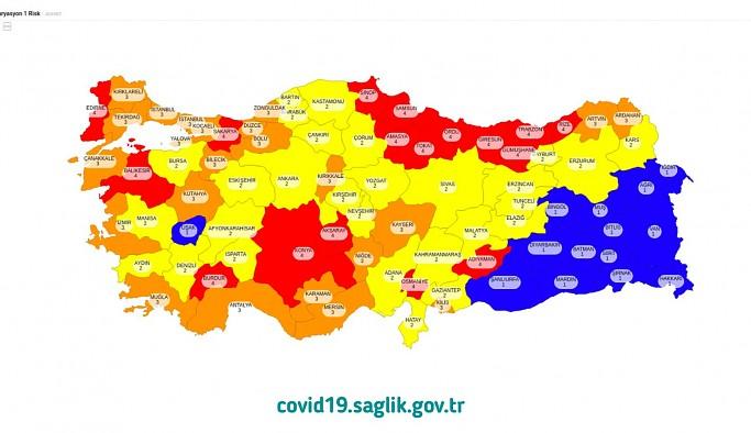 Fahrettin Koca Türkiye'nin risk haritasını açıkladı: İşte kademeli normalleşmeye geçen iller