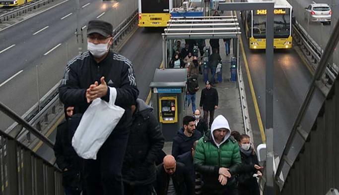 İstanbul'da 65 yaş üstü ve 20 yaş altının toplu taşıma kısıtlaması kaldırıldı