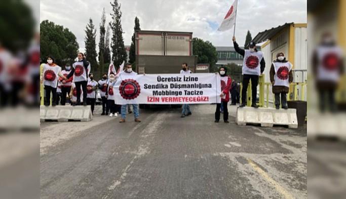 Migros işçilerine polis müdahalesi: 14 işçi gözaltına alındı