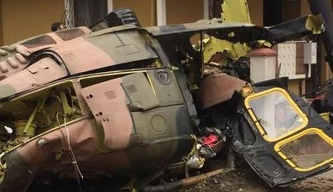 Tatvan'da bir askeri helikopter düştü: 9 asker yaşamını yitirdi