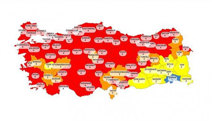 TTB'den 'kırmızı harita' tepkisi: Yönetemiyorsunuz