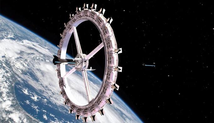 Uzayda aynı anda 400 kişiyi ağırlayacak ilk otel açılacak