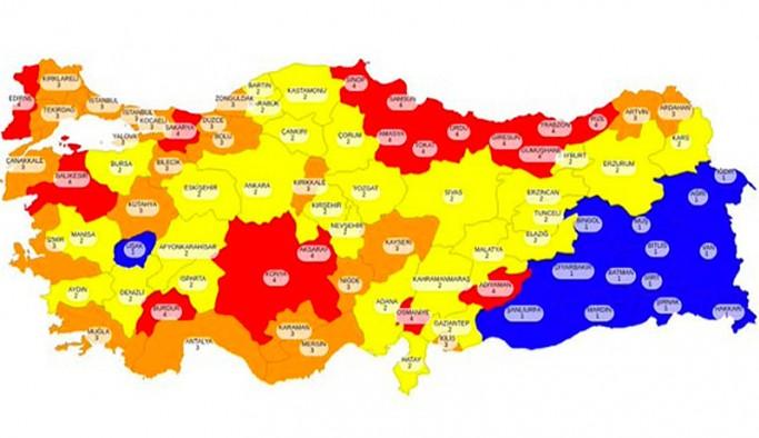 Uzmanlar risk haritasını yorumladı: Güneydoğu ve Doğu Anadolu nasıl 'mavi' oldu?