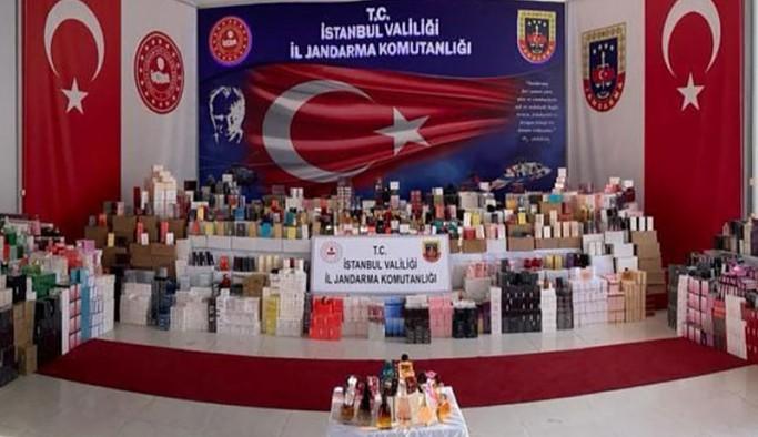 20 bin şişe sahte parfüm ele geçirildi