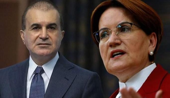 AKP Sözcüsü Çelik'ten Akşener'e yanıt: Her saldırıyı Cumhurbaşkanımıza karşı kullanıyorlar
