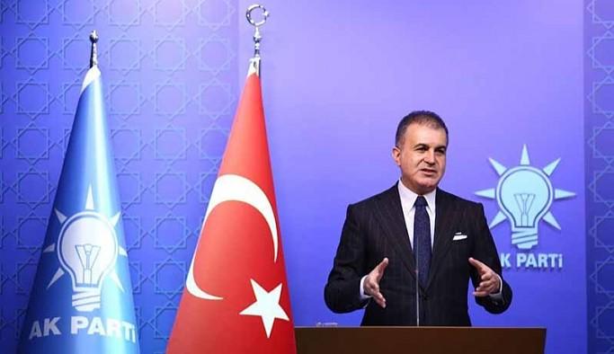 AKP Sözcüsü Ömer Çelik: ABD Başkanı fanatik Ermeni bir gruba teslim oldu