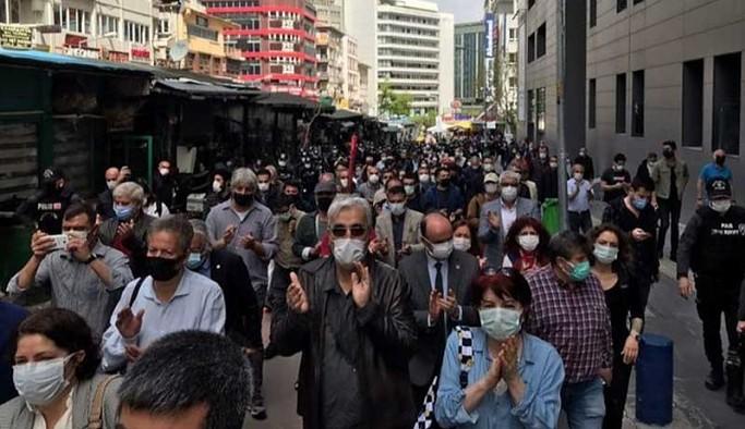 Ankara'da 1 Mayıs engeli: Polis, 'uzaklaşın hadi lan' dedi