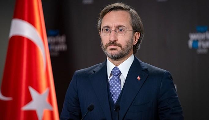 Cumhurbaşkanlığı İletişim Başkanı Fahrettin Altun devam eden Kobanê Davasında yargılananları hedef aldı