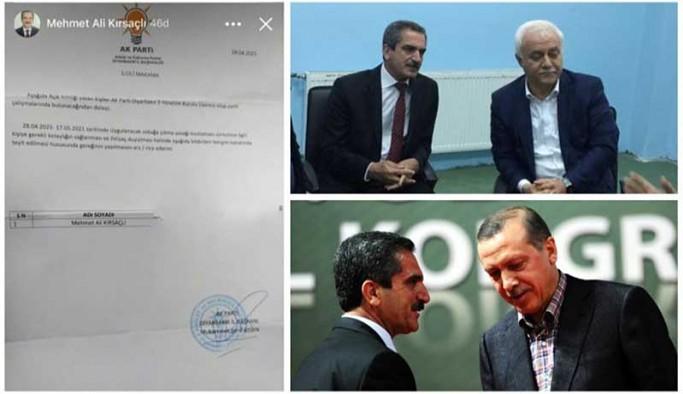 Diyarbakır'da AKP'lilere izin belgesi dağıtıldı