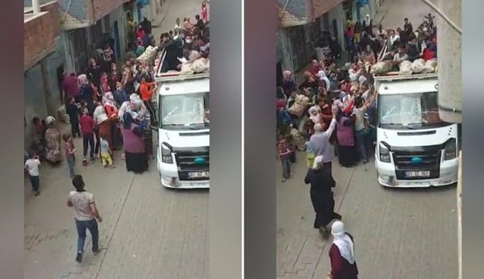 Diyarbakır'da da patates, soğan izdihamı
