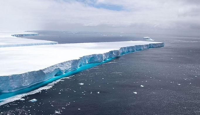 Dünyanın en büyük buzulu, eriyerek yok oldu