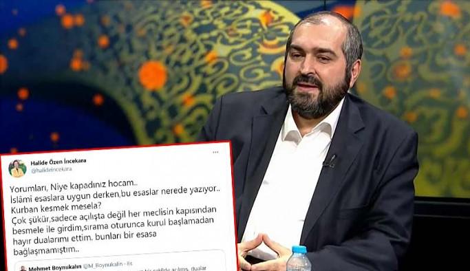 Eski Ayasofya imamı Boynukalın'ın 23 Nisan mesajına AKP'den tepki