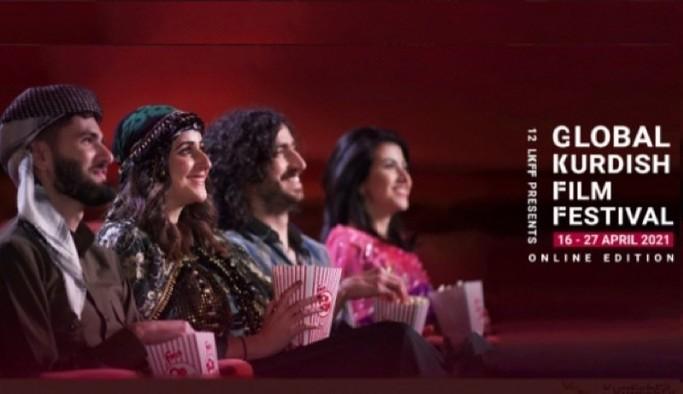 Global Kürt Film Festivali kapsamında 100 film ücretsiz gösterime girdi