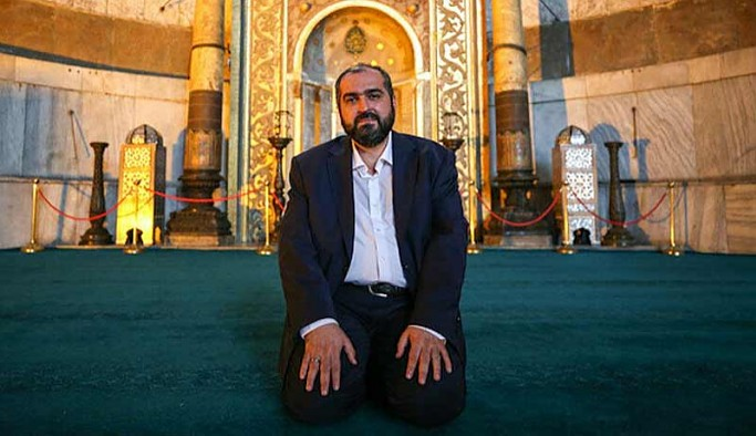 Görevden ayrılan Ayasofya İmamı Mehmet Boynukalın'dan ilk açıklama