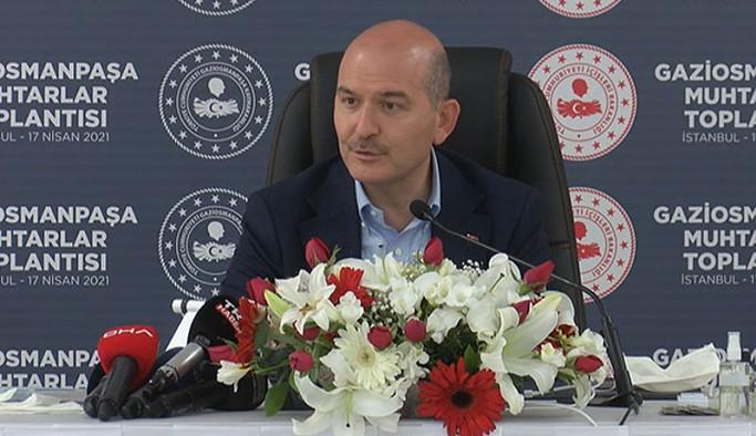 İçişleri Bakanı Soylu'dan İstanbul için deprem açıklaması