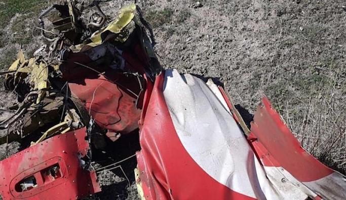 Konya'da askeri uçak düştü: Pilot yaşamını yitirdi