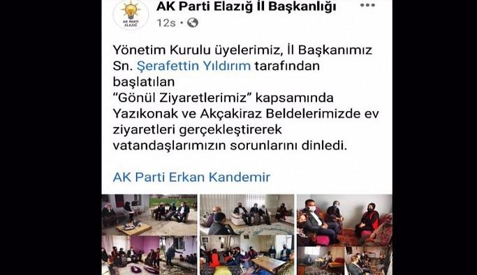 'Lebaleb kongreler' yetmedi AKP şimdi de ev ziyaretlerine başladı: Sağlık müdürünün uyarısını takmadılar