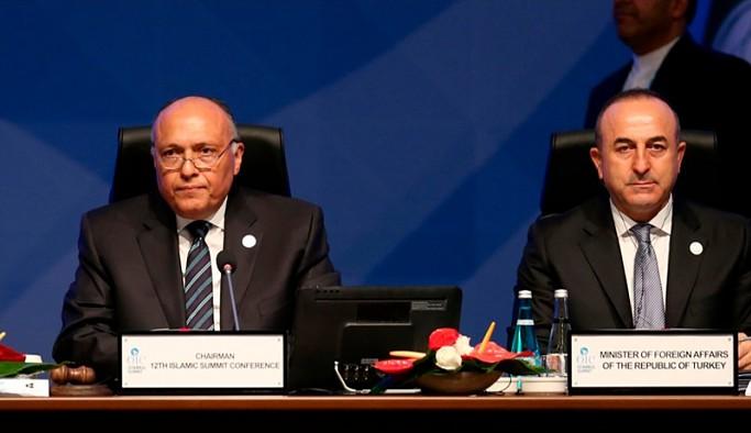 Mevlüt Çavuşoğlu Mısır Dışişleri Bakanı'yla görüştü