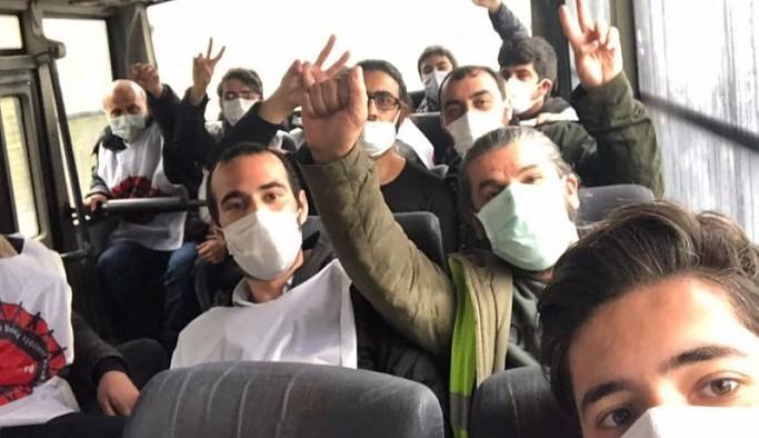 Patronun villası önünde hakkını isteyen Migros işçilerine polis müdahalesi: 32 gözaltı