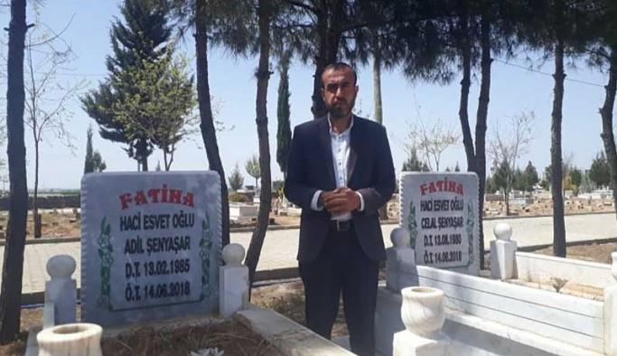 Şenyaşarlar mezarlık ziyaretinde de 'adalet' dedi