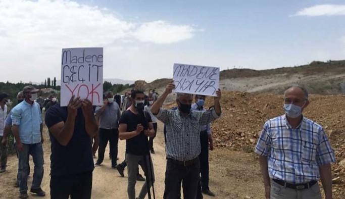 8 köyü etkileyecek maden ocağına olumlu rapor verildi