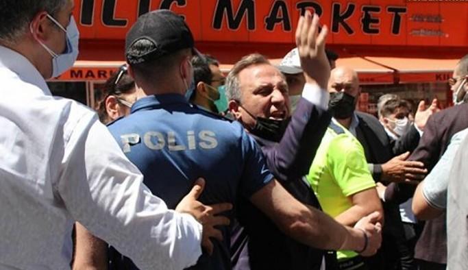 Akşener'in İkizdere ziyaretinde Erdoğan yanlıları ile İYİ Partililer arasında arbede