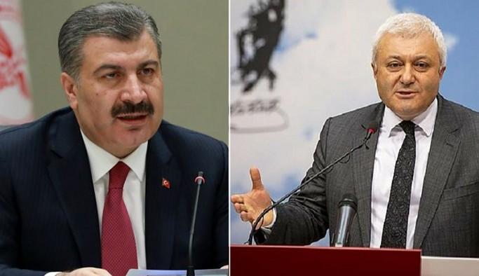 Bakan Koca'dan CHP'li Tuncay Özkan'a 'ölüm raporu' yanıtı