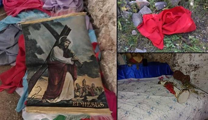 Bir buçuk yıldır kayıp Hürmüz Diril'in köyündeki kiliseye saldırı