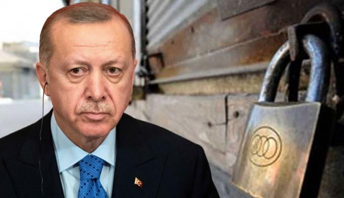 Erdoğan'ın 'helallik' istediği esnaf hakkını helal etmedi