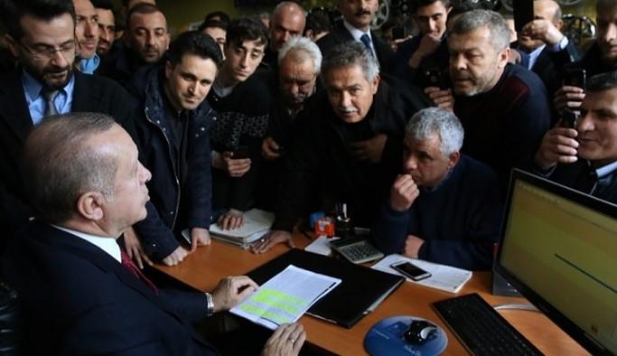 Erdoğan: Sıkıntıya giren esnafımız, çalışanımız olduysa helallik istiyoruz