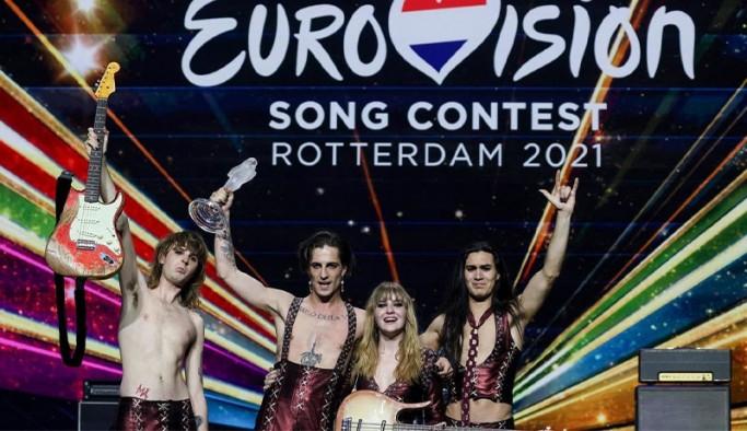 Eurovision'da bu yıl kazanan İtalya oldu