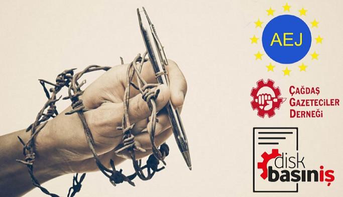 Gazeteci örgütlerinden ortak 3 Mayıs açıklaması: Basın özgürlüğünün engellenmesi suçtur