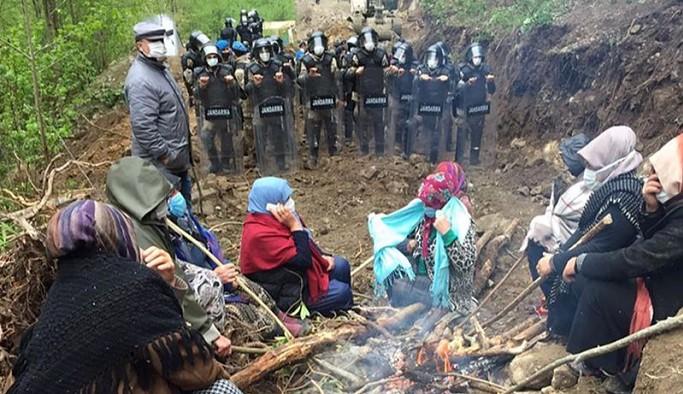 İkizdere'de taş ocağına karşı direnen yurttaşların çadırları söküldü: Her şeyimizi talan etmişler