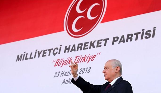 İktidar ortağı MHP: Türkiye'nin sorunlar yumağından kurtulması için tek yol MHP iktidarı