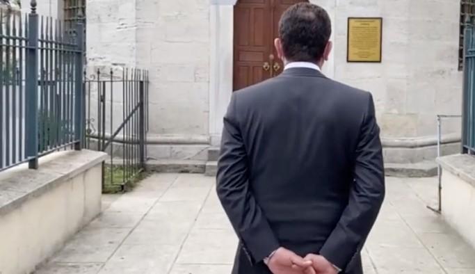 İmamoğlu'na 'türbeye girerken ellerini arkadan bağladın' soruşturması