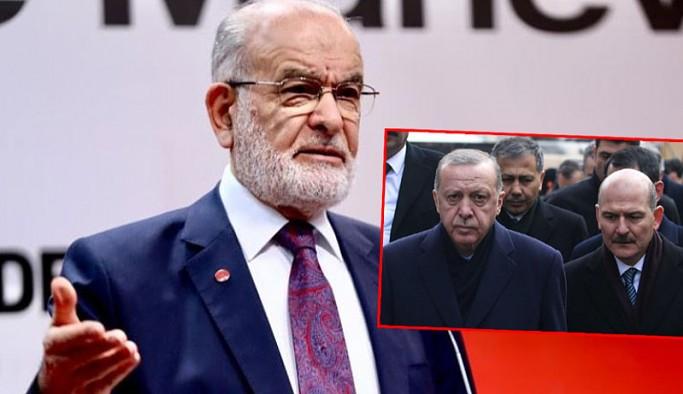 Karamollaoğlu'ndan Erdoğan'a 'Soylu istifa etmezse azlet' çağrısı
