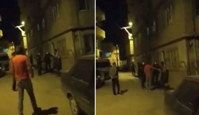Kimliğini istediği yurttaşa saldıran bekçilere mahalle halkından tepki: Buna hakkınız yok