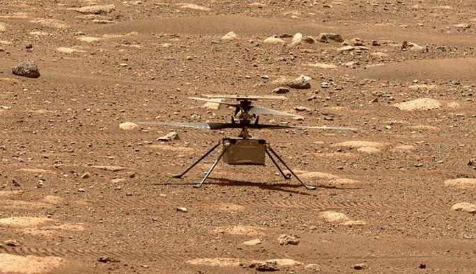 NASA'nın Mars'taki mini helikopterinin ses kaydı yayınlandı