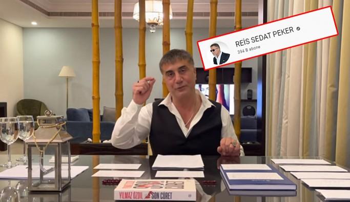 Youtube, Sedat Peker'in kanalına 'onay işareti' verdi