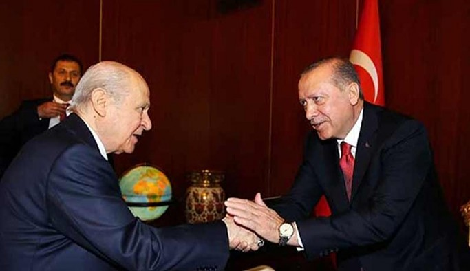 AKP seçim paketini MHP'ye sundu