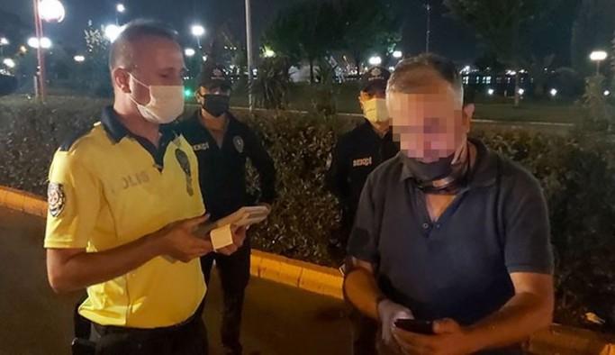 Bir kişi polislere beddua ettiği gerekçesiyle gözaltına alındı